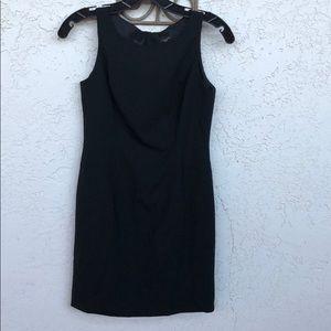 Ann Taylor Black Petite Sheath Dress